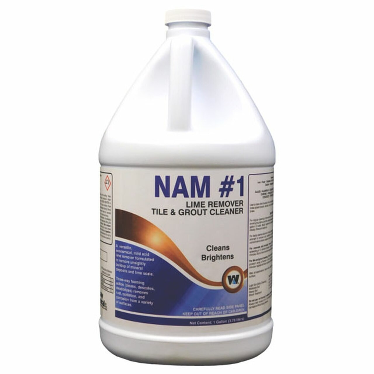NAM #1 21504-0000004 Lime Scale Remover, Tile & Grout Cleaner, 4/Gallons/Case