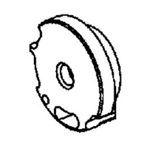 Dynabrade® 01245 Rear Bearing Plate, For Use With 53501 Die Grinder