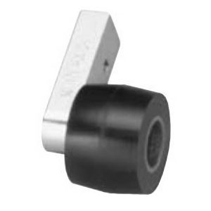 Dynabrade® 14263 Contact Arm Assembly, 1-1/2 Dia x 1 in W, For Use With Dynangle® 14200 Abrasive Belt Tool