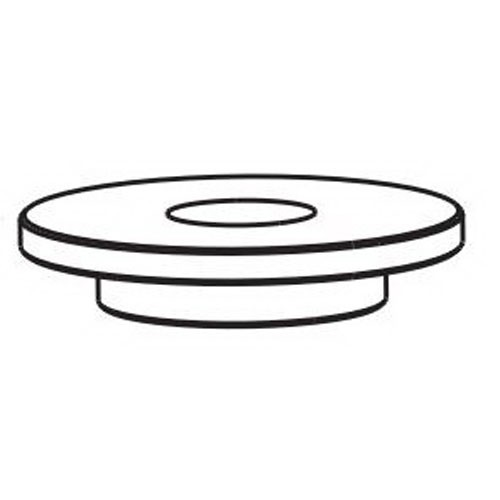 Dynabrade® 54974 Front Bearing Plate, For Use With 51370 Disc Sander and 52620 Depressed Center Wheel Grinder