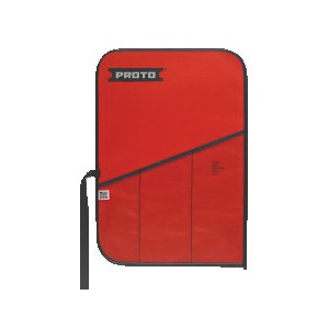 Proto® J25TR22C Tool Roll, 3 Pockets, For Use With J790 Adjustable Wrench Set, J795 Adjustable Wrench Set, Canvas/Vinyl