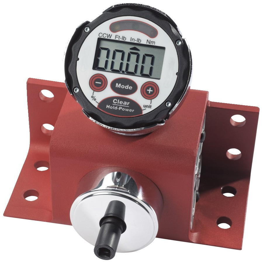 Proto® J6478 Electronic Torque Tester, 3/4 in Drive, 60 - 600 ft-lb, +/-1%, 9 V Battery Power Source, LCD Display