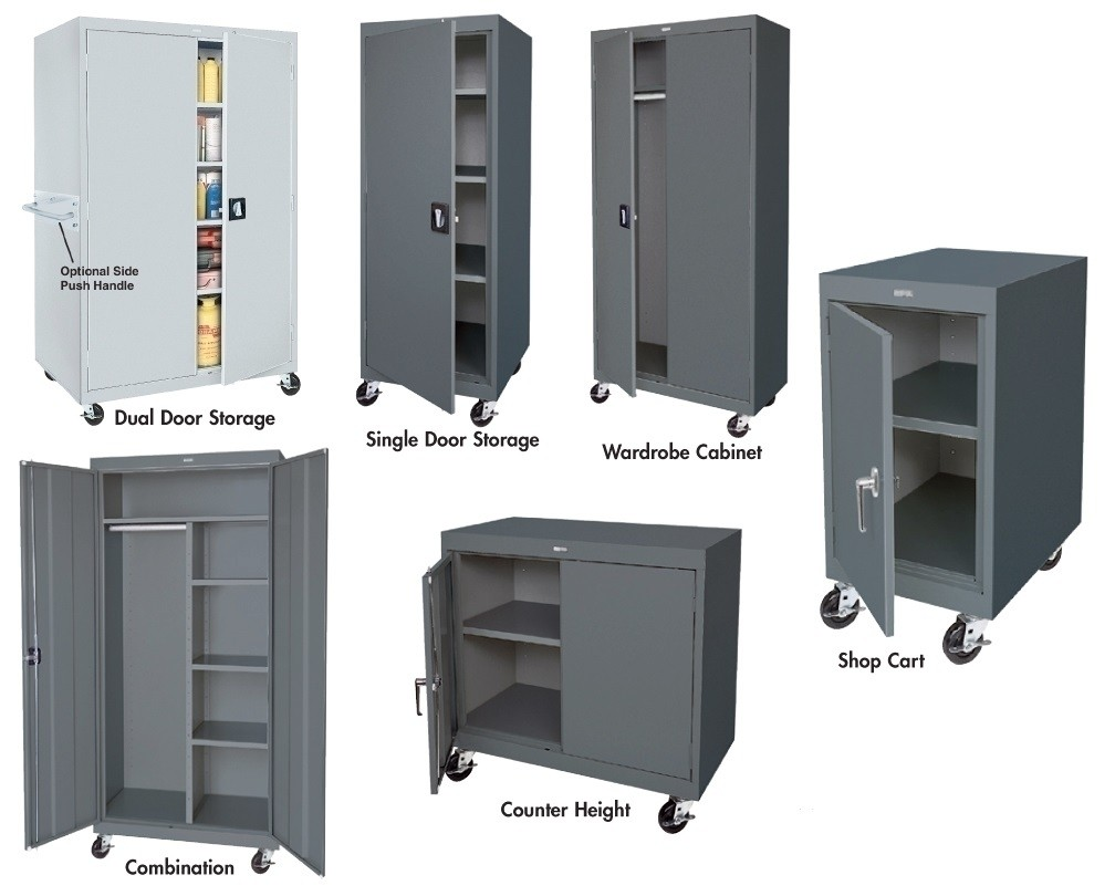 MOBILE STORAGE CABINETS    TRANSPORT SERIES, Yellow ( EY), Wardrobe Cabinet