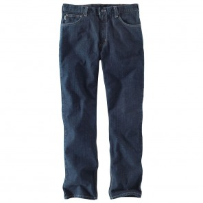 Men's Carhartt Flame-Resistant Straight Traditional-Fit Rugged Flex Jean