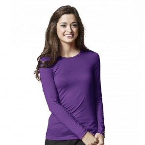 Women's WonderWink Silky Long-Sleeve Tee