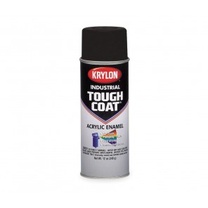 Krylon® A01770007 OSHA Black Industrial Tough Coat® Acrylic Enamel 16 oz