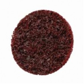 Scotch-Brite™ 048011-05527 Type TR Non-Woven Surface Conditioning Disc, 2 in Dia, No Hole, Aluminum Oxide Abrasive