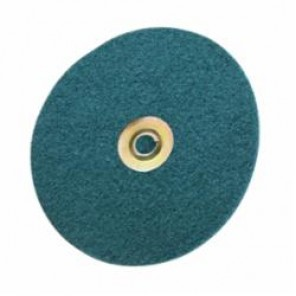 Scotch-Brite™ SC-DN Quick-Change Type TN Surface Conditioning Disc, 5 in Dia, No Hole, Blue