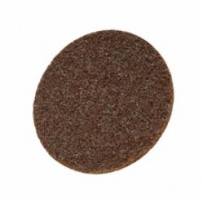 Roloc™, Scotch-Brite™ SE-DR Quick-Change Type TR Surface Conditioning Disc, 2 in Dia, No Hole, Brown