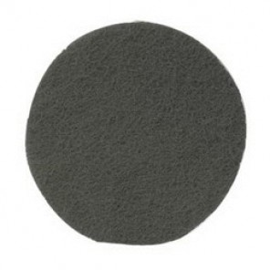 Hookit™, Scotch-Brite™ CF-HA Clean and Finish Disc, 5 in Dia, No Hole, Silicon Carbide Abrasive, Gray