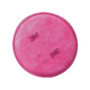 3M™ 051131-07000 Particulate Filter, For Use With 6000, 7000, 7800 and FF - 400 Series Respirators, P100, Non-Woven