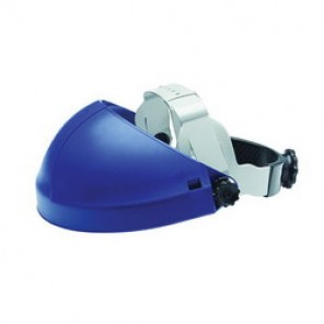 3M™ H8A Faceshield Headgear, For Use With 3M Faceshield, Ratchet, Thermoplastic, Blue