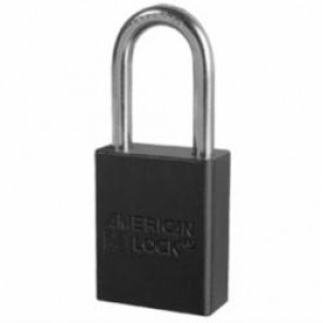 BLACK PADLOCK KEYED DIFFERENT