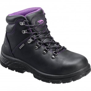 Women's Nautilus Avenger Steel Toe Waterproof Work Hiker, Black