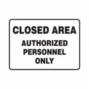 Accuform® MADM982VP Safety Sign, 10 in H x 14 in W, 0.055 in Plastic