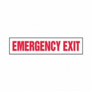 Accuform® MEXT563VA Safety Sign, 7 in H x 10 in W, 0.04 in Aluminum