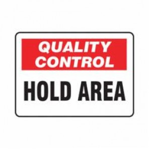 Accuform® MQTL709VS Safety Sign, 7 in H x 10 in W, 4 mil Adhesive Vinyl