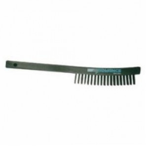 PFERD 85012 Scratch Brush Without Scraper, 6-1/4 in Brush, 13-3/4 in L x 7/8 in W Block, 1-1/8 in Carbon Steel Trim