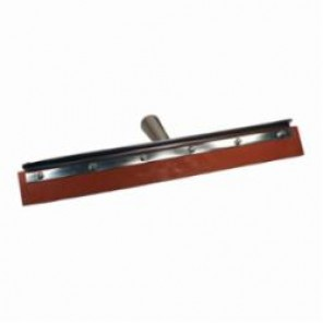 PFERD 89471 Standard Duty Floor Squeegee, 18 in L x 2 in W, Straight Red Gum Blade