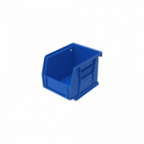 AkroBin 30210 Hanging/Stacking Heavy Duty Bin, Blue