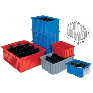 AKRO-GRID DIVIDERS & LABEL HOLDERS, Short Dividers, Fit Box No.: H33168, Ctn. Qty.: 6