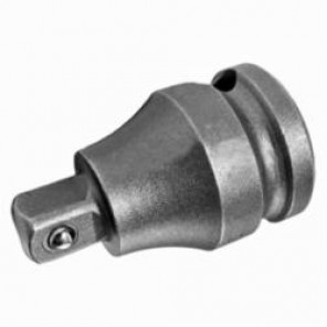 Apex® EX-254-B Drive Adapter With Ball Lock, Imperial, Square Drive, 1/4 in Male Drive, 3/8 in Female Drive, Female x Male Adapter, Specifications Met: ASME B107.112, High Carbon Alloy Steel