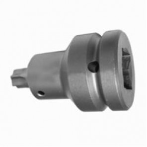 Apex® EX-751-B Drive Adapter With Ball Lock, Imperial, Square Drive, 3/4 in Male Drive, 1/2 in Female Drive, Female x Male Adapter, Specifications Met: ASME B107.113, High Carbon Alloy Steel