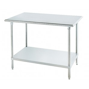 SS SERIES STAINLESS STEEL WORKTABLES, Size W x D x H: 30 x 48 x 35-1/2""