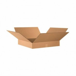 "24 x 24 x 4"" Flat Corrugated Boxes, 10 Per Bundle"