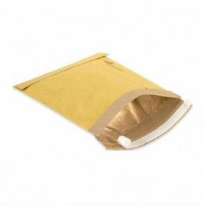 "9-1/2 x 14-1/2""  Kraft #4 Self-Seal Padded Mailers"