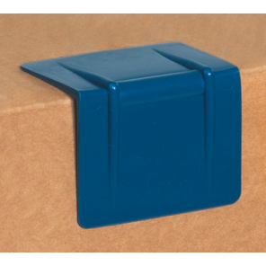 "SPP252B  2-1/2 x 2"" - Blue Plastic Strap Guards / Edge Protectors, 1000 per case"