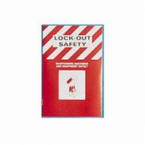 Brady® Prinzing® 2112x Lockout Safety Training Booklet, English, 16 Pages