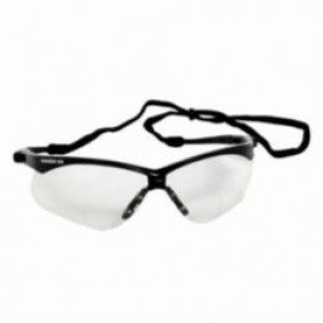 Jackson Safety; 22516 Reader Protective Glasses With Neck Cord, Universal, +1.5, Framed, Smoke Lens