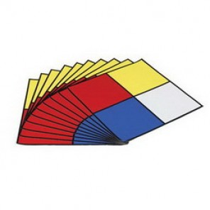 Brady® 58504 Outdoor Grade NFPA Placard, 15 in H x 15 in W, Black/Red/Blue/Yellow on White, Surface