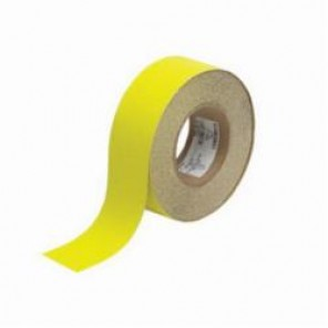 Brady® 78091 Laminated Roll Mount Anti-Skid Floor Tape, 2 in W x 60 ft L, 0.026 in THK, B-916 Glow-In-The-Dark Polyester