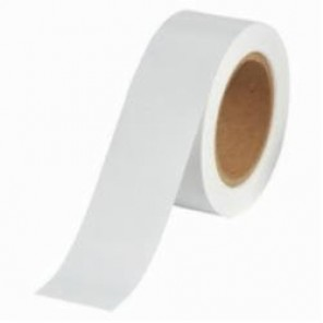 Brady® 91431 Solid Pipe Banding Tape, 30 yd H x 2 in W, 2 Markers per Card, White, B-946 Vinyl