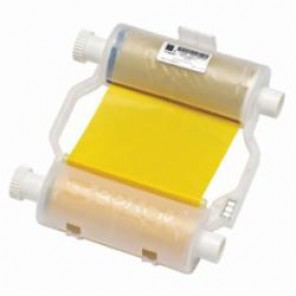 Brady® B30-R10000-YL2 Printer Ribbon, 200 ft L x 4.33 in W, For Use With BBP®31, BBP®33 and BBP®35 Printer