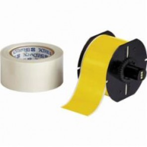 Brady® ToughStripe® B30C-2250-483YL-KT Thermal Transfer Printable Floor Marking Tape, 2-1/4 in W x 100 ft L, Yellow