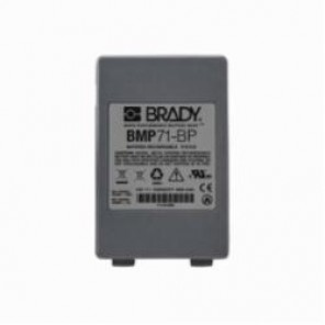 Brady® M71-BATT Rechargeable Universal Battery Pack, For Use With BMP®71 Label Printers