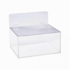 Brady® MPPE Miscellaneous PPE Dispenser, Clear, Acrylic Glass, 9-1/2 in H x 11-1/2 in W x 9-1/2 in D