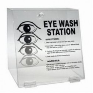 Brady® Prinzing® PD996E Double Eye Wash Station, 32 oz, 10 in H x 10-1/4 in W x 7 in D