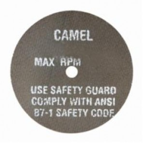 CGW® 35688 Type 1 High Speed Reinforced Straight Cut-Off Wheel, 1-1/2 in Dia x 1/32 in THK, 1/4 in, 60R Grit, Aluminum Oxide Abrasive