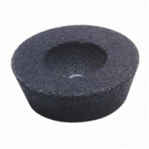 CGW® 49010 Flaring Cup Wheel Without Steel Back, 6 x 4-3/4 in Dia x 2 in THK, 5/8-11, 24 Grit, Aluminum Oxide Abrasive