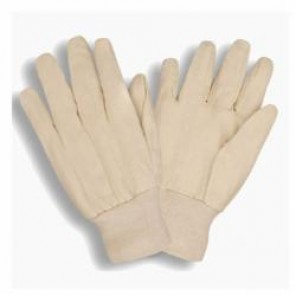 Cordova 2000RW Breathable Men's Canvas Gloves, L, 8 oz 55% Ramie/45% Cotton Palm, Clute Pattern, Wing Thumb