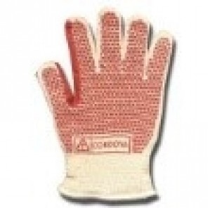 Cordova 3830 Two-Ply Reversible Hot Mill Gloves with Nitrile Texture Blocks, Reinforced Thumb Crotch, Dozen