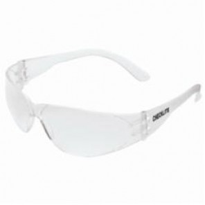Crews Checklite® Value Protective Glasses, Frameless Clear Frame, Scratch Resistant Clear Lens, 12 Pairs per Box