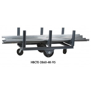 BAR CRADLE TRUCKS, Cap. (lbs.): 4000, Overall Length (ft.): 5, No. of Cradles: 3