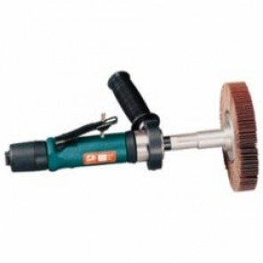 Dynabrade® Dynastraight® 13205 Straight Line Abrasive Finishing Tool, 8 in Dia, 5/8 or 1 in, 0.7 hp, 35 scfm, 90 psi (Bare Tool)