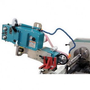 Dynabrade® 64000 Superfinisher Tool Post Grinder, 4 in Belt, 1/16 - 1-1/2 ipm, 0.5 hp, 115 VAC, 1 Phase, 60 Hz, 73 dBA (Bare Tool)