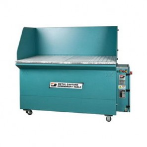 Dynabrade® 64403 Metal Finishing Downdraft Table, 36 in W x 60 in L, 3 hp, 460 VAC, 3 Phase, 60 Hz, 1800 cfm